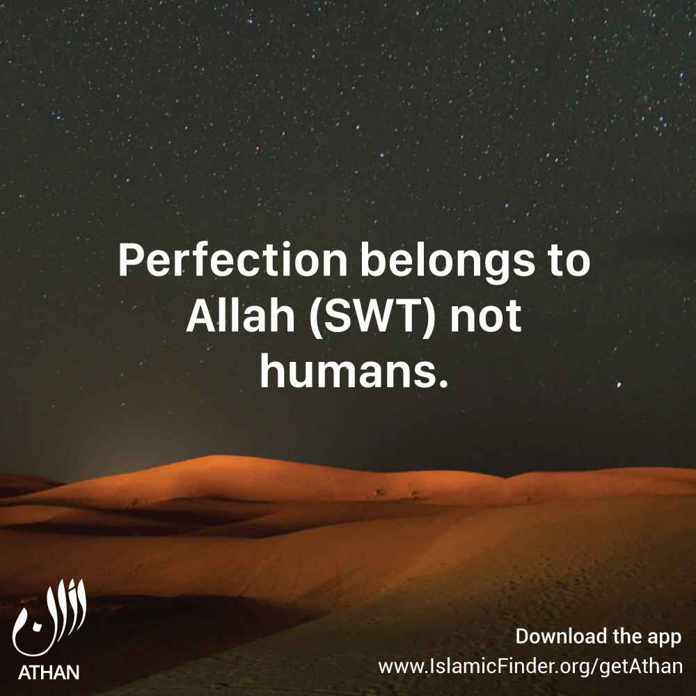 Allah is Perfect