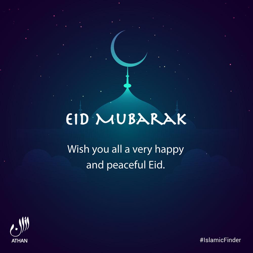 eid mubarak card image  islamicfinder