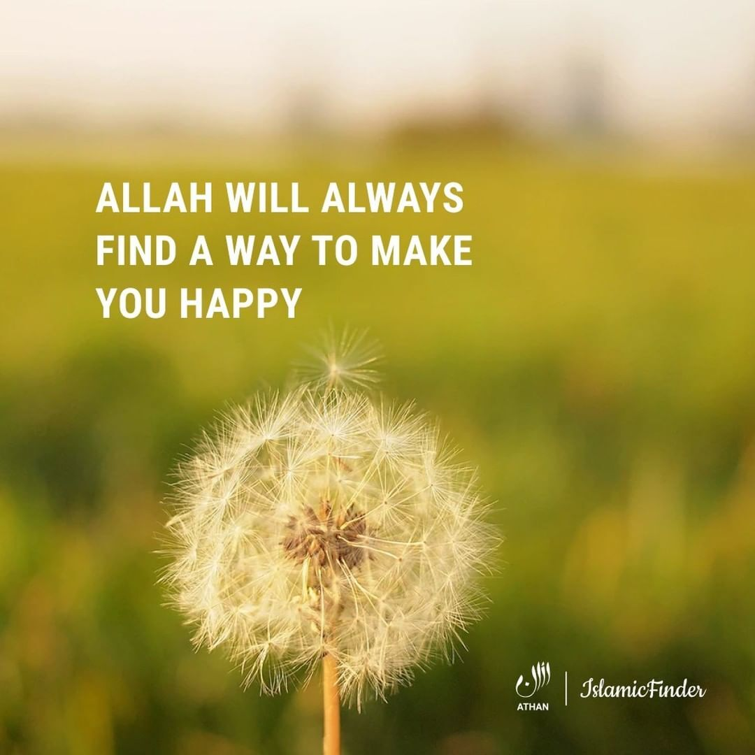 Allah is there for you.