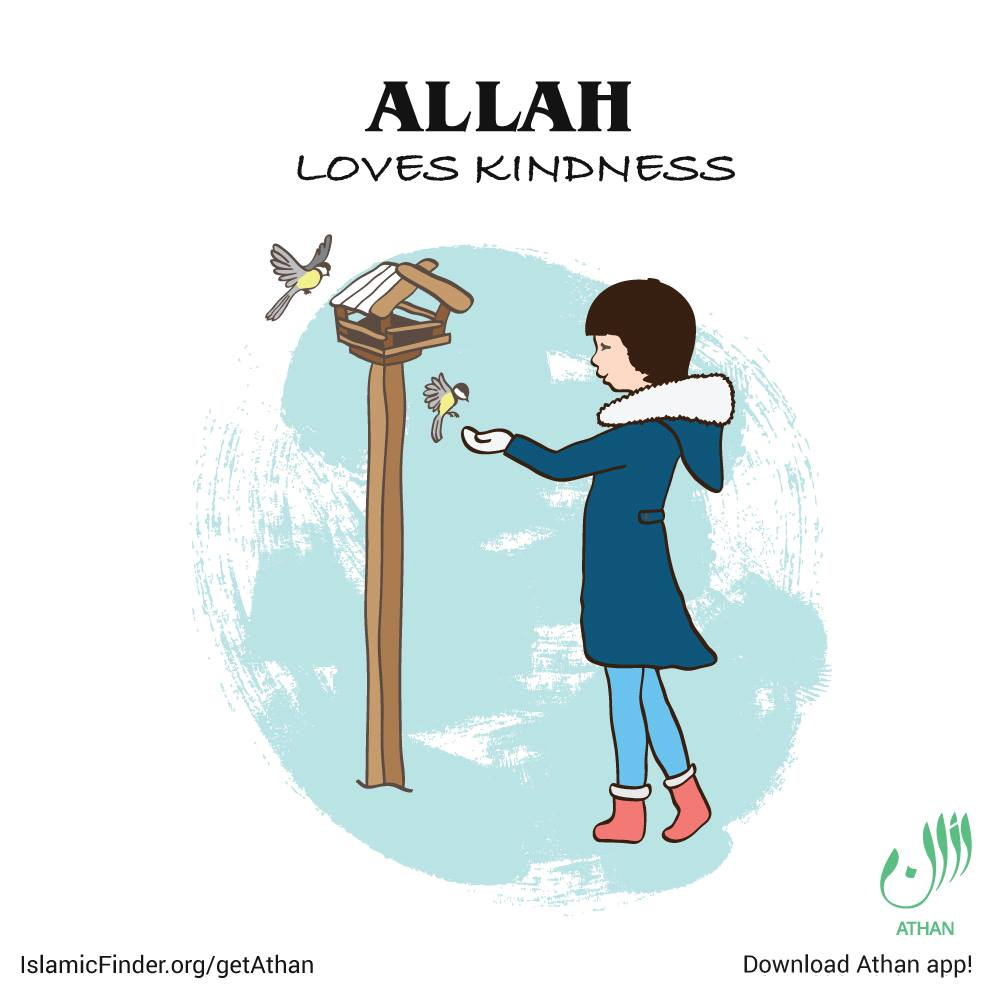 Be kind to Allah's creations
