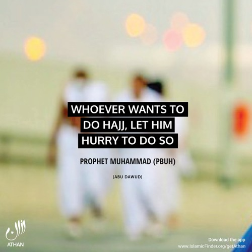 Hajj Sayings