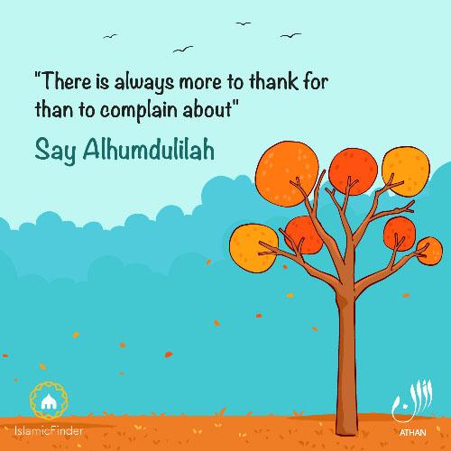 Say Alhumdulilah
