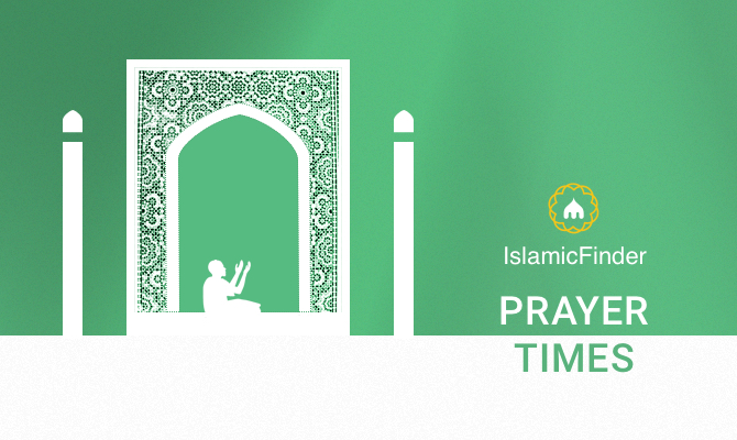 Prayer Times Today, Salat Time, Namaz and Azan Timings