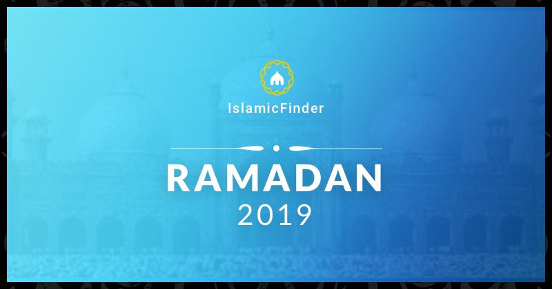 Ramadan 2019 / 1440 - Fasting times, Sehr Iftar Calendar