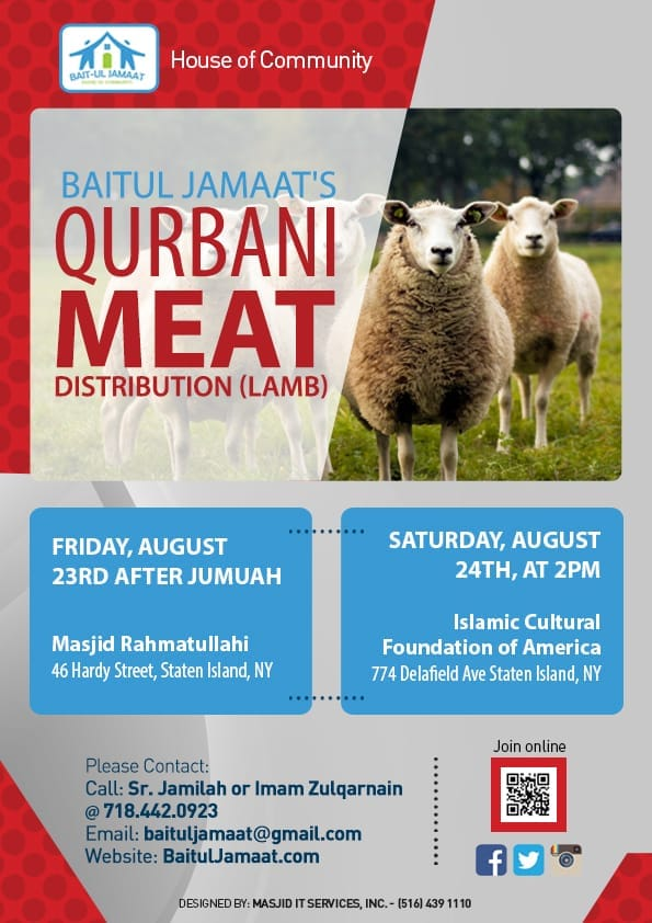 Qurbani Meat Distributions Drives continue to be held long